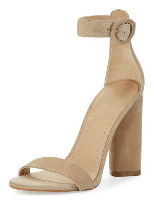 KENDALL + KYLIE Giselle Suede Chunky-Heel Sandal