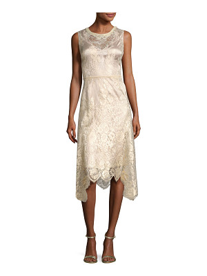 KOBI HALPERIN Sariyah Sleeveless Floral Lace Cocktail Dress