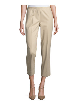 Lafayette 148 New York Metro Stretch Lexington Cropped Pants