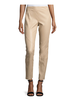 Lafayette 148 New York Napa Stretch-Leather Leggings