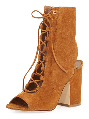Laurence Dacade Nelly Suede Lace-Up Booties