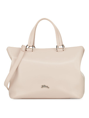 LONGCHAMP Honoré Medium Leather Tote Bag