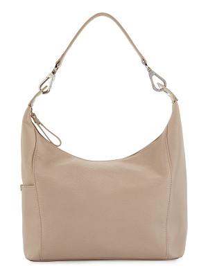 Longchamp Le Foulonné Small Leather Hobo Bag
