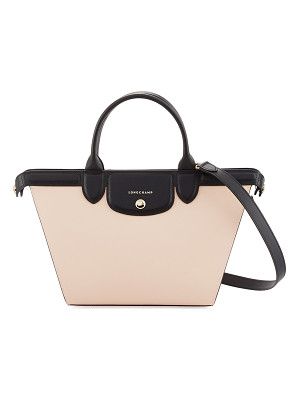 LONGCHAMP Le Pliage Heritage Colorblock Shoulder Bag