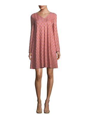 M MISSONI Zigzag-Jersey Swing Dress
