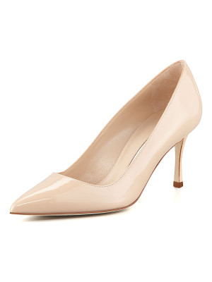 MANOLO BLAHNIK Bb 70mm Patent Leather Pump (Pin Heel)