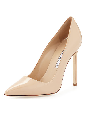 MANOLO BLAHNIK Bb Patent Leather 115mm Pump