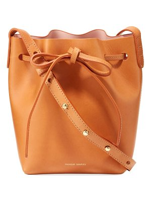 Mansur Gavriel Vegetable-Tanned Leather Mini Mini Bucket Bag