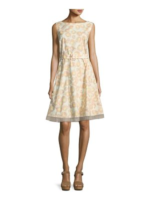 MARC JACOBS Sleeveless Floral-Print Cotton Dress