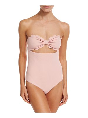 Marysia Antibes Scalloped One-Piece Swimsuit
