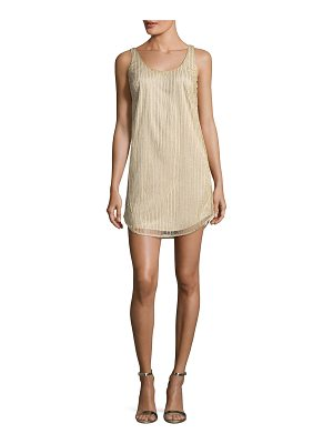 Mestiza New York Vertical Beaded Tank Cocktail Dress