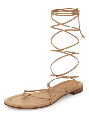 Michael Kors Collection Bradshaw Lace-Up Gladiator Sandal