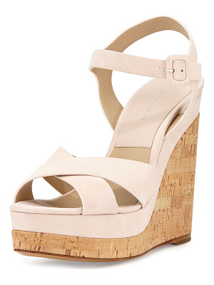 MICHAEL KORS COLLECTION Cate Suede Wedge Sandal