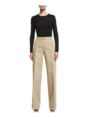 Michael Kors High-Waist Wide-Leg Pants