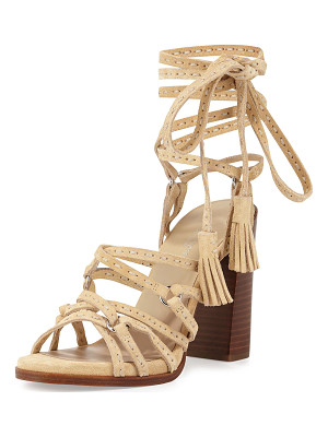 MICHAEL KORS COLLECTION Rowan Suede Lace-Up Sandal