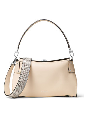 MICHAEL KORS Miranda Medium Top-Lock Shoulder Bag