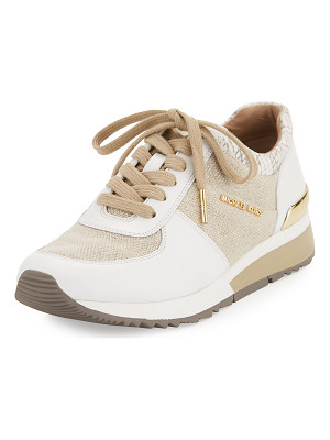 MICHAEL Michael Kors Allie Cotton Trainer Sneaker