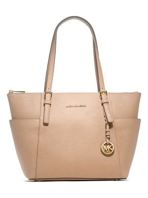 MICHAEL MICHAEL KORS Jet Set Top-Zip Saffiano Tote Bag