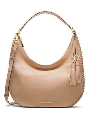 MICHAEL MICHAEL KORS Lauryn Large Leather Shoulder Bag