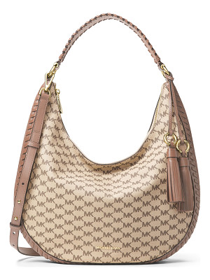 MICHAEL MICHAEL KORS Lauryn Large Logo-Print Shoulder Bag