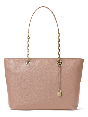 MICHAEL MICHAEL KORS Mercer Medium Chain Leather Tote Bag