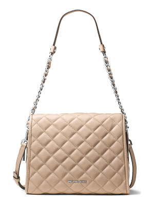 MICHAEL MICHAEL KORS Rachel Medium Quilted Leather Satchel Bag