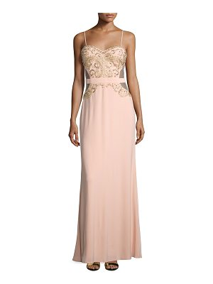 MIGNON Sweetheart Embellished Gown