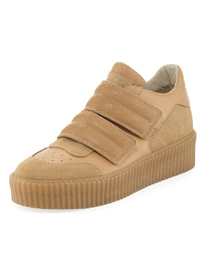 MM6 MAISON MARGIELA Banded Leather Low-Top Sneaker