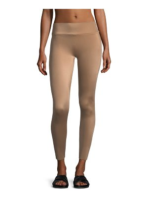 NORMA KAMALI Low-Rise Ankle Leggings