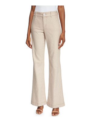 NYDJ Claire Textured Linen Twill Pants