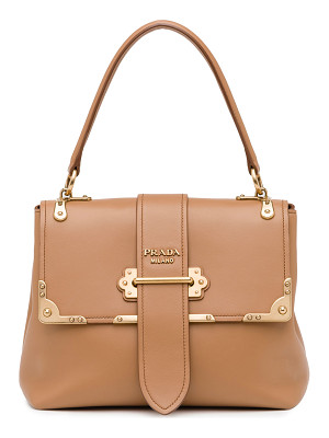 PRADA Cahier Medium Half-Flap Shoulder Bag