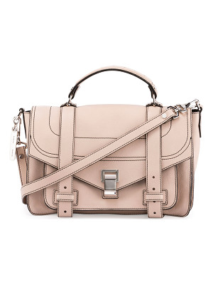 PROENZA SCHOULER Ps1+ Medium Leather Satchel Bag