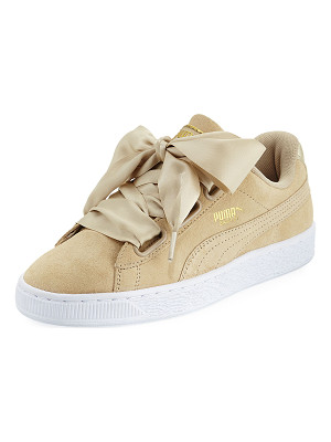PUMA Basket Heart Safari Suede Sneaker