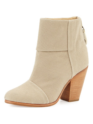 RAG & BONE Classic Newbury Canvas Bootie
