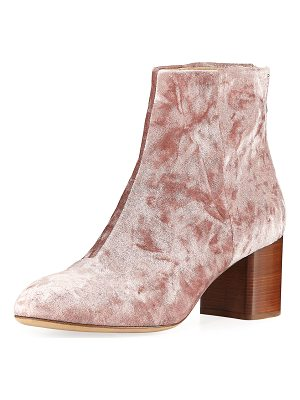 RAG & BONE Drea Crushed Velvet Ankle Boot