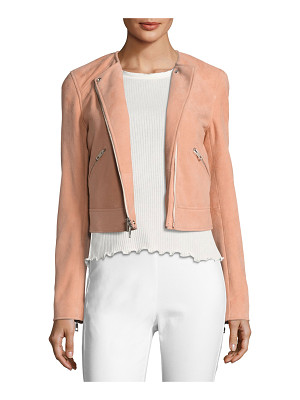 Rag & Bone Hollander Suede Motorcycle Jacket