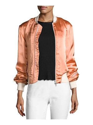 Rag & Bone Morton Sateen Bomber Jacket