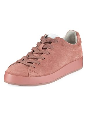 RAG & BONE Rb1 Low-Top Suede Platform Sneaker