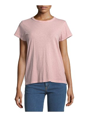RAG & BONE Crewneck Short-Sleeve Cotton Tee
