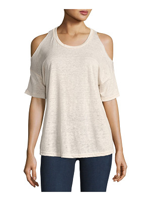 RAILS Ricky Cold-Shoulder Crew Neck Tee