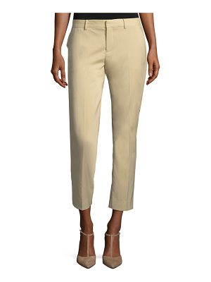 Ralph Lauren Collection Patrice Straight-Leg Ankle Wool Pants