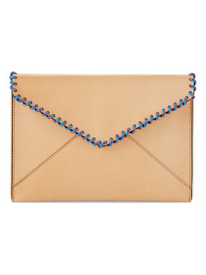 REBECCA MINKOFF Leo Climbing Rope Envelope Clutch Bag