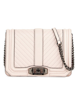 Rebecca Minkoff Love Chevron Quilted Small Clutch Bag