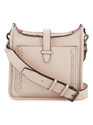 REBECCA MINKOFF Mini Pebbled Whipstitch Feed Bag