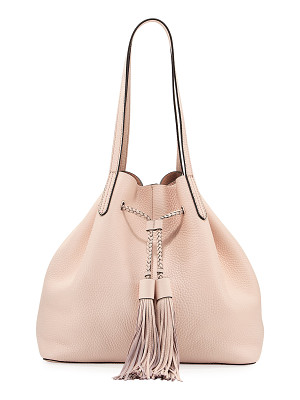 REBECCA MINKOFF Pebbled Drawstring Tote Bag