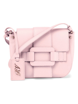 Roger Vivier Pilgrim De Jour Leather Crossbody Bag