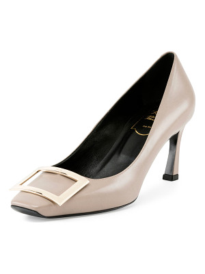 ROGER VIVIER Trompette Leather 70mm Pump