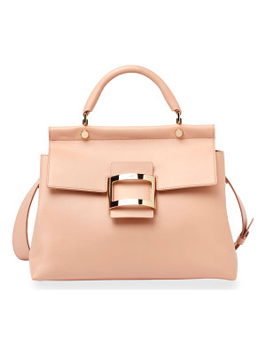 ROGER VIVIER Viv Cabas Medium Top-Handle Satchel Bag