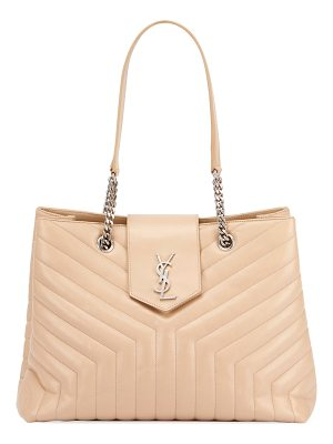 Saint Laurent Loulou Monogram Medium Quilted Shoulder Bag