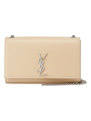 SAINT LAURENT Kate Monogram Medium Wall On A Chain Tassel Shoulder Bag